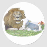 christian gifts round stickers