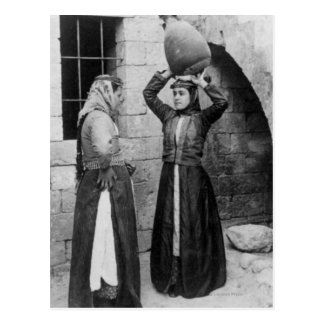 Christian Girls in Nazareth Postcard