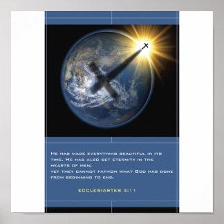 Christian Globe Poster