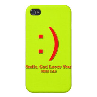 Christian God Love's You Cover For iPhone 4