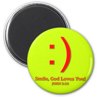 Christian God Love's You Magnet