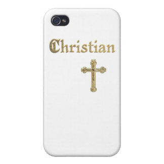 Christian Gold Cross iPhone 4/4S Case