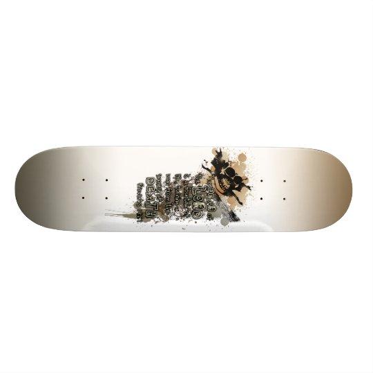 Christian Grunge Skateboard Deck