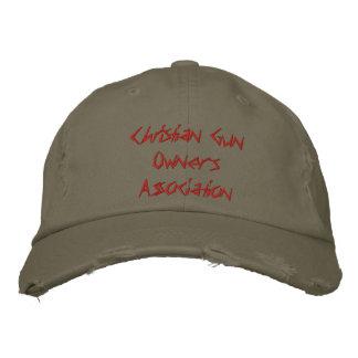 Christian Gun Owners Association Hat Baseball Cap