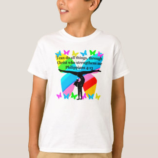 CHRISTIAN GYMNAST INSPIRATIONAL BIBLE DESIGN T-Shirt