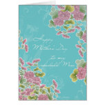 Christian Happy Mother's Day, chrysanthemum Greeting Card