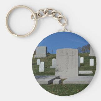 Christian Headstone Arlington Cemetery Keychains