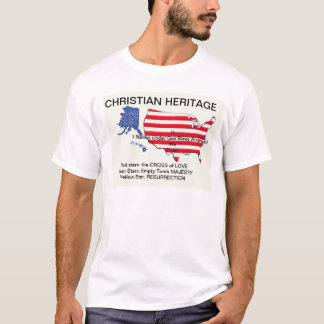 Christian Heritage t-shirt by agoragape