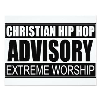 Christian Hip Hop Advisory... Personalized Invites