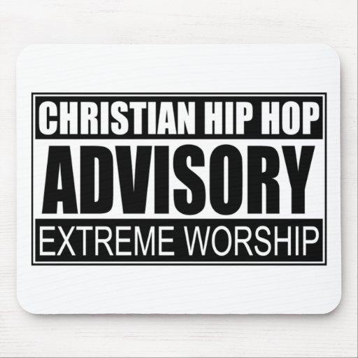 Christian Hip Hop Advisory... Mousepad