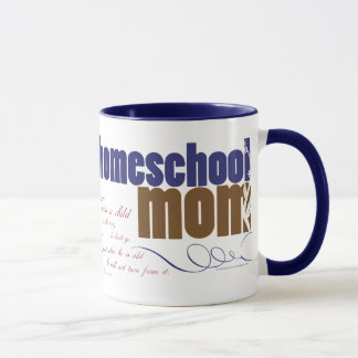 Christian homeschool mug - Homeschool Mom