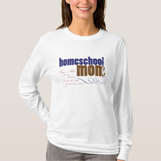 Christian homeschool t-shirt - Homeschool Mom
