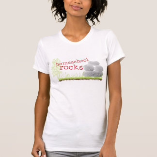Christian homeschool t-shirt - Homeschool Rocks