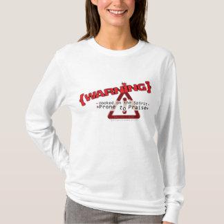 Christian hoodie: Prone to Praise T-Shirt