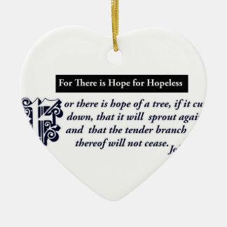 christian hope designs christmas tree ornament