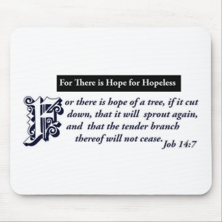 christian hope designs mouse pad