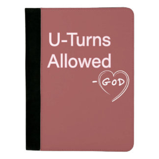 Christian Humor gifts Padfolios God U-Turn Allowed Padfolio