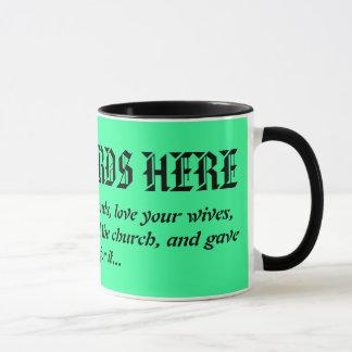Christian Husband's Coffee Mug