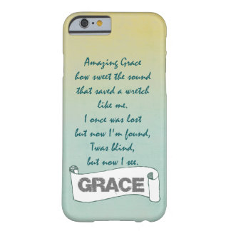 Christian Hymn: Amazing Grace Barely There iPhone 6 Case