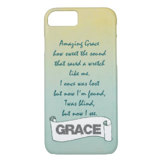 Christian Hymn: Amazing Grace iPhone 8/7 Case