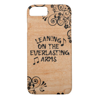 Christian Hymn Leaning on the Everlasting Arms iPhone 8/7 Case