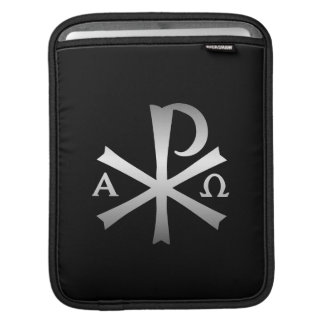 Christian Icon Alpha and Omega Labarum Sleeves For iPads