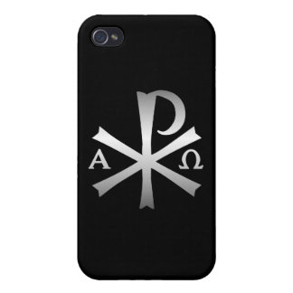 Christian Icon Alpha and Omega Labarum iPhone 4/4S Case