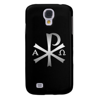 Christian Icon Alpha and Omega Labarum Samsung Galaxy S4 Cover