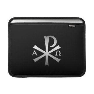 Christian Icon Alpha and Omega Labarum Sleeve For MacBook Air