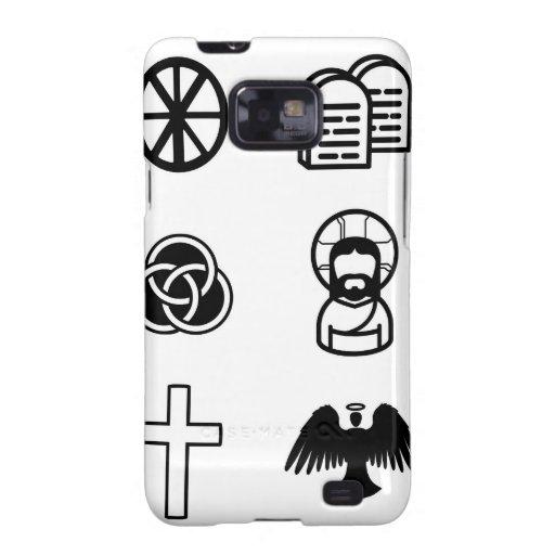 Christian icon set galaxy s2 case