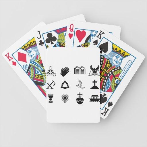 Christian icons card decks