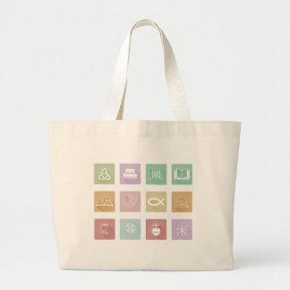 Christian Icons Large Tote Bag