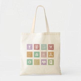 Christian Icons Tote Bag