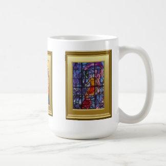 Christian ikons classic white coffee mug