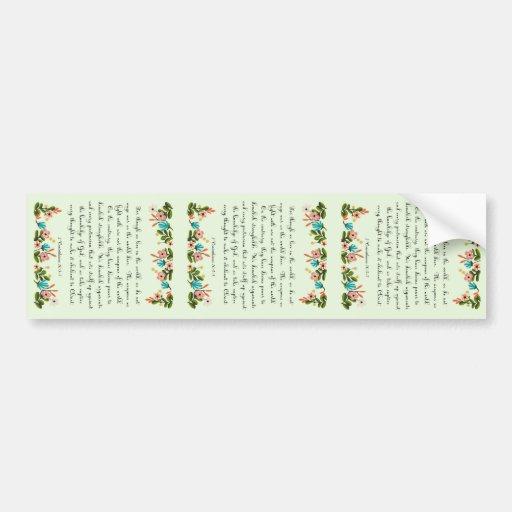 Christian inspirational Art - 2 Corinthians 10:3-5 Bumper Stickers