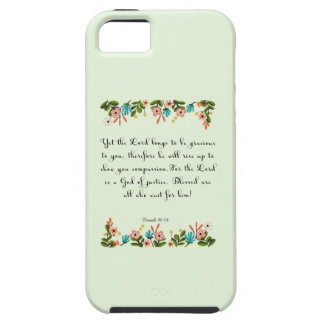 Christian inspirational Art - Isaiah 30:18 iPhone SE/5/5s Case