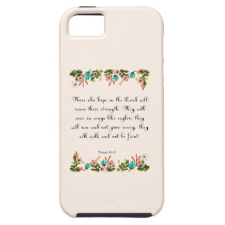 Christian inspirational Art - Isaiah 40:31 iPhone SE/5/5s Case