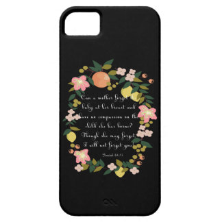 Christian inspirational Art - Isaiah 49:15 iPhone SE/5/5s Case