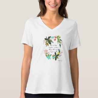 Christian inspirational Art - Luke 12:31 T-shirts