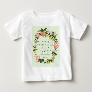 Christian inspirational Art - Psalm 100:3 Baby T-Shirt