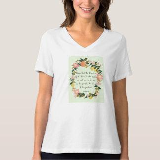 Christian inspirational Art - Psalm 100:3 T-Shirt