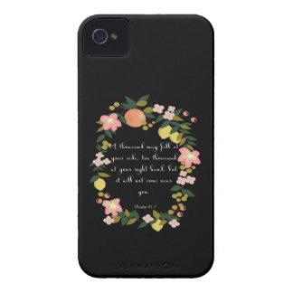 Christian inspirational Art - Psalm 91:7 Case-Mate iPhone 4 Case
