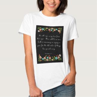 Christian inspirational Art - Revelation 21:4 T-Shirt