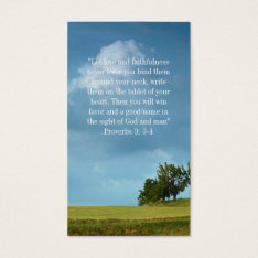 Christian | Inspirational Business Card at Zazzle