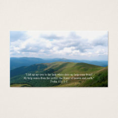 Christian | Inspirational Quote Business Card at Zazzle