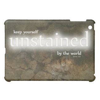 Christian iPad case: Unstained by the World Case For The iPad Mini