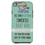 Christian iPhone 6 case: Do Not Be Conformed iPhone 6 Case