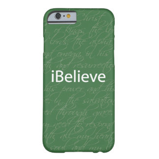 Christian iPhone 6 case: iBelieve Barely There iPhone 6 Case