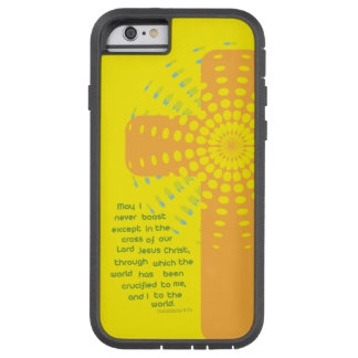 Christian iPhone case:  Boast in the Cross Tough Xtreme iPhone 6 Case