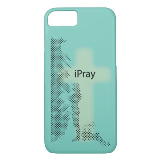 Christian iPhone case: iPray iPhone 8/7 Case